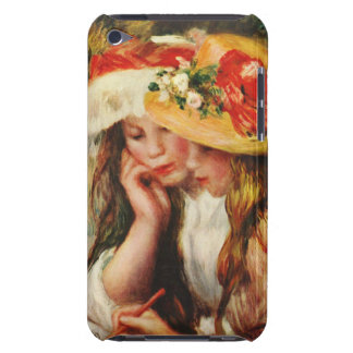 Renoir Two Girls Reading in the Garden iPod Touch Cover