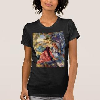 Renoir: Two Girls Sitting in Grass T-Shirt