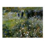 Renoir Woman with Parasol in Garden