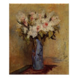 Renoir's A Vase of Lilacs and Roses Poster