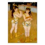 Renoir's Acrobats at the Cirque Fernando (1879) Greeting Card