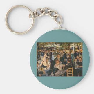 Renoir's Bal du   de la Galette (1876) Key Chain