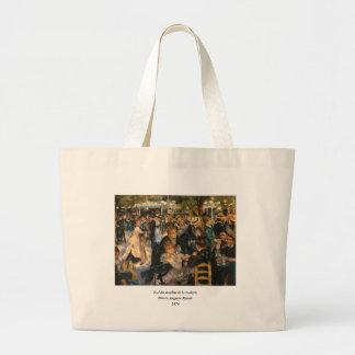 Renoir's Bal du   de la Galette (1876) Jumbo Tote Bag