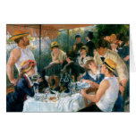 Renoir's Luncheon of the Boating Party (1881) Greeting Cards