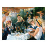 Renoir's Luncheon of the Boating Party (1881) Personalized Invitations
