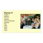 Renoir's Luncheon of the Boating Party (1881) Pack Of Standard Business Cards