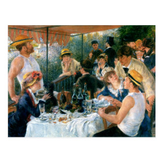 Renoir's Luncheon of the Boating Party (1881) Postcard