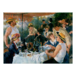 Renoir's Luncheon of the Boating Party (1881) Poster