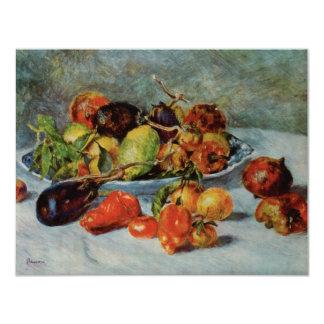 Renoir's Still Life with Mediterranean Fruit, 1911 11 Cm X 14 Cm Invitation Card