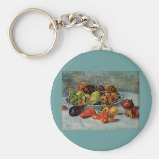 Renoir's Still Life with Mediterranean Fruit, 1911 Key Ring