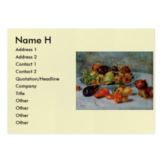 Renoir's Still Life with Mediterranean Fruit, 1911 Pack Of Chubby Business Cards