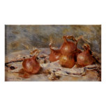Renoir's Still Life with Onions (1881)