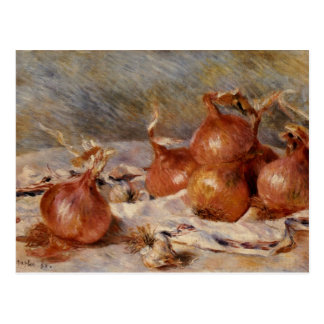 Renoir's Still Life with Onions (1881) Postcard