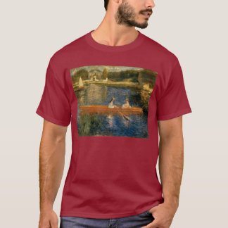 Renoir's The Seine at Asnières (The Skiff) ca 1879 T-Shirt