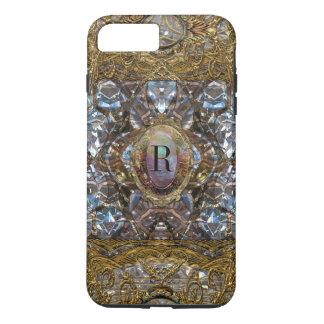 Renoirste Baroque Monogram   Girly iPhone 7 Plus Case