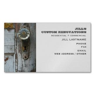 Renovation / Remodeling / Restoration Magnetic Magnetic Business Cards