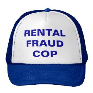 RENTAL FRAUD COP - CAP MESH HATS