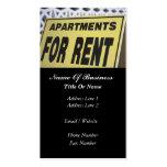Rental Property Business Card
