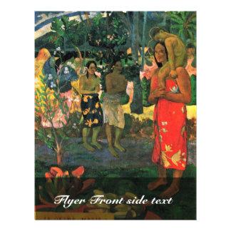 Reo Mä `Ohi: Ia Orana Maria (Â € ™ Ia Ora Na Maria Flyer