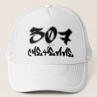 Rep Cheyenne (307) Trucker Hat
