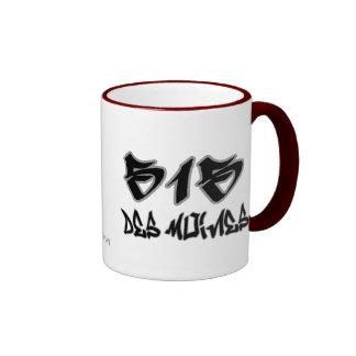 Rep Des Moines (515) Ringer Mug