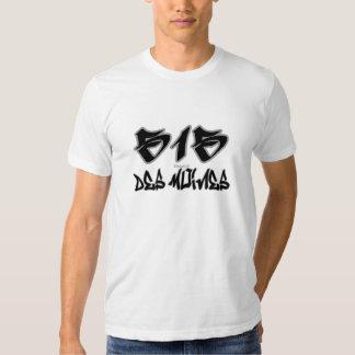 Rep Des Moines (515) T Shirts