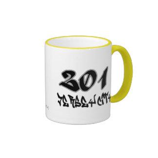 Rep Jersey City (201) Ringer Mug