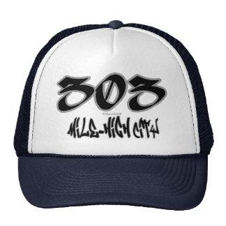 Rep Mile-High City (303) Cap