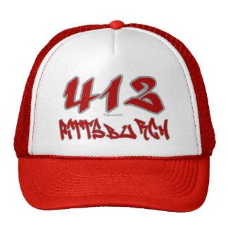 Rep Pittsburgh (412) Cap