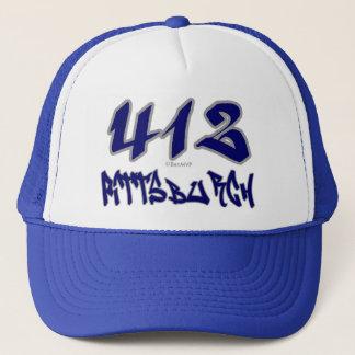 Rep Pittsburgh (412) Trucker Hat