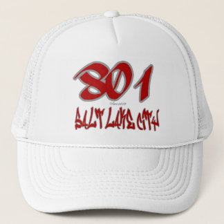 Rep Salt Lake City (801) Trucker Hat