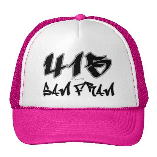 Rep San Fran (415) Mesh Hats