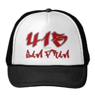 Rep San Fran 415 Trucker Hat