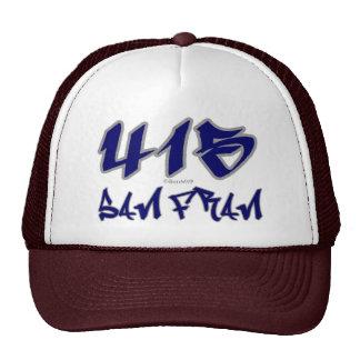 Rep San Fran 415 Mesh Hats
