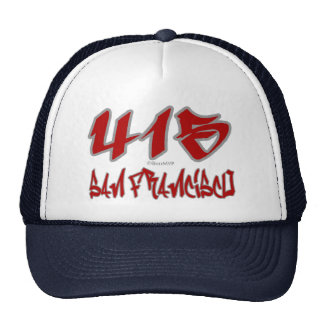 Rep San Francisco (415) Trucker Hat