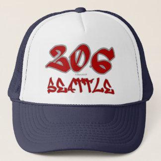Rep Seattle (206) Cap