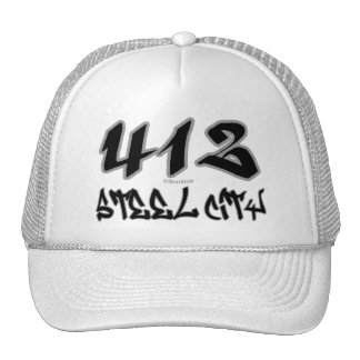 Rep Steel City (412) Cap