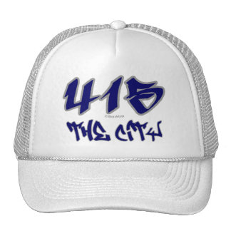 Rep The City (415) Trucker Hat