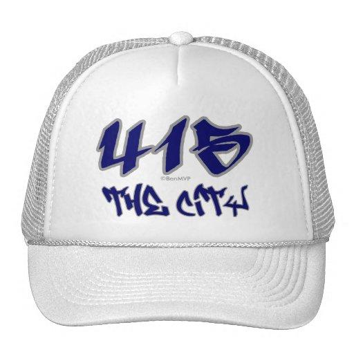 Rep The City (415) Trucker Hat