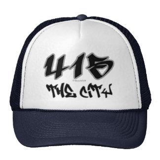 Rep The City 415 Trucker Hat