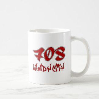Rep Windy City (708) Classic White Coffee Mug