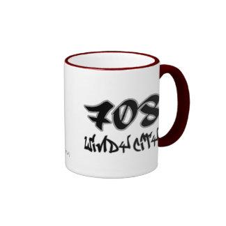 Rep Windy City (708) Ringer Mug