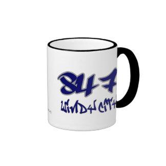 Rep Windy City (847) Ringer Mug
