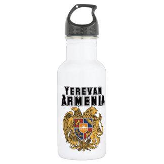 Rep Ya Hood Custom Armenia 18oz Water Bottle