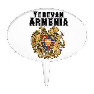 Rep Ya Hood Custom Armenia Cake Topper