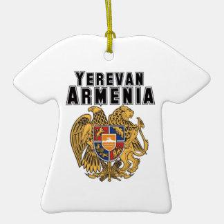 Rep Ya Hood Custom Armenia Double-Sided T-Shirt Ceramic Christmas Ornament