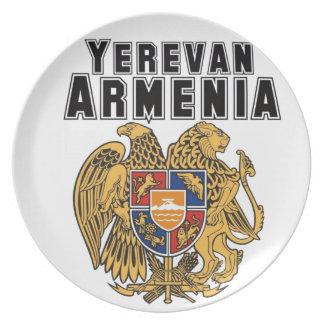 Rep Ya Hood Custom Armenia Party Plate