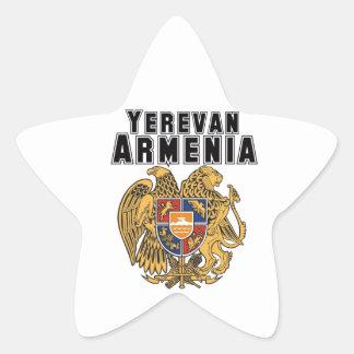 Rep Ya Hood Custom Armenia Star Sticker