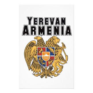 Rep Ya Hood Custom Armenia Stationery Paper