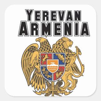Rep Ya Hood Custom Armenia Sticker
